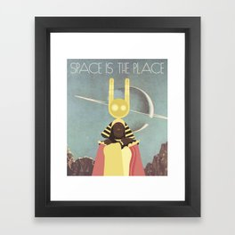 SUN RA: SPACE IS THE PLACE Framed Art Print