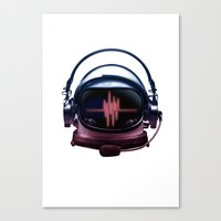 radiohead Canvas Prints featuring Radiohead by Steven Toang