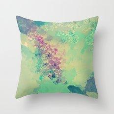 Little golden fish Throw Pillow