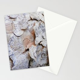 Tree Bark rustic decor Stationery Cards
