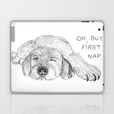 Dog napping Laptop & iPad Skin