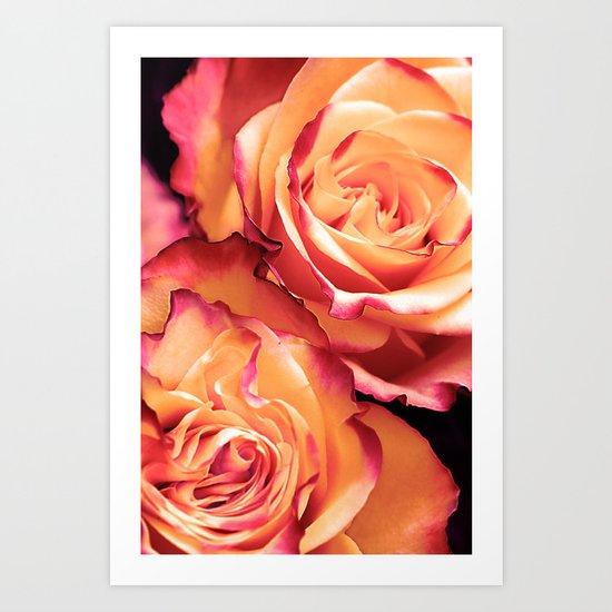 Romantic roses(13) Art Print