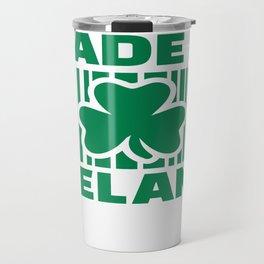 I'll be Irish in a few beers Travel Mug