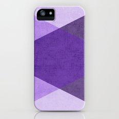 purple triangles iPhone (5, 5s) Slim Case