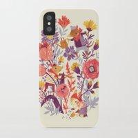 garden iPhone & iPod Cases featuring The Garden Crew by Teagan White