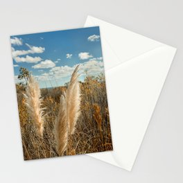 Autumn Sea Oats Stationery Cards