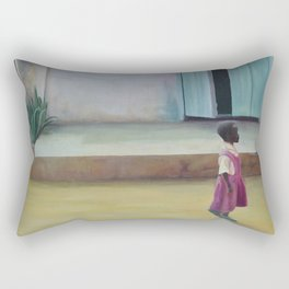 African Girl Rectangular Pillow