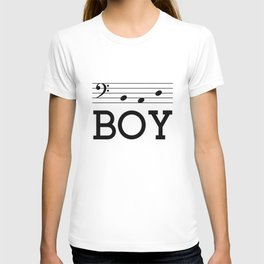Bad boy (bass clef) T-shirt