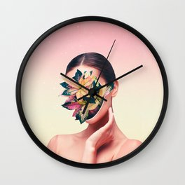 PLANT FACE Wall Clock