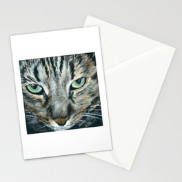 Brown Tabby Cat Stationery Cards