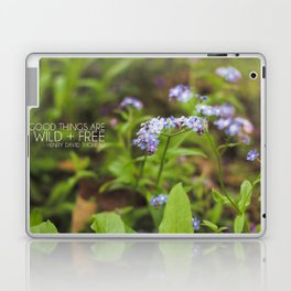 wild + free. Laptop & iPad Skin