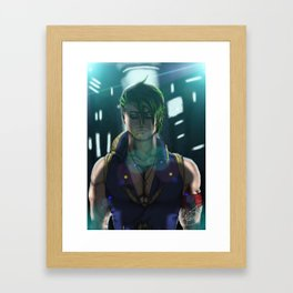 Jerico Graves Mugshot Framed Art Print