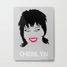 Cherilyn Minimalistic Metal Print