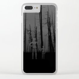 The rain is making them sick Clear iPhone Case