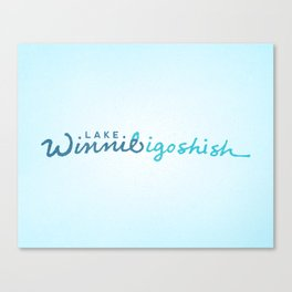 Lake Winnibigoshish Canvas Print