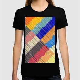 Cool Colors Collage T-shirt