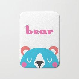 Bear Bath Mat
