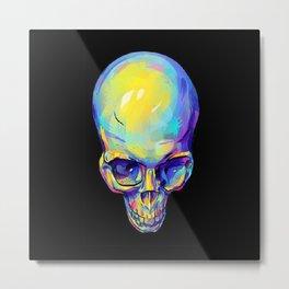 colorskull Metal Print