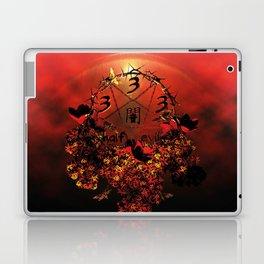 half evil pentagram Laptop & iPad Skin