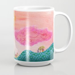 Pink Balloons Coffee Mug