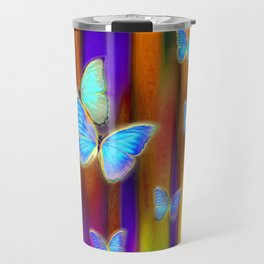 Silken Wings, Rainbow. Travel Mug
