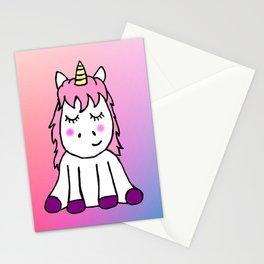 Happy Unicorn Stationery Cards