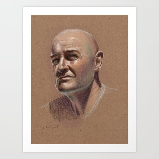 Locke Art Print
