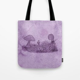 Fungi Meadow Tote Bag