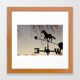 Follow the Wind Framed Art Print