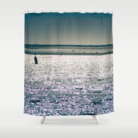 cape cod Shower Curtains featuring Chatham Cape Cod Massachusetts by ELIZABETH THOMAS Photography of Cape Cod