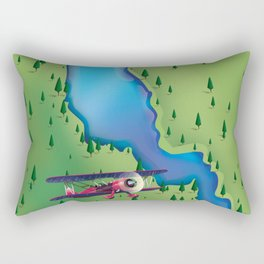 Lake Annecy,Haute-Savoie France Rectangular Pillow