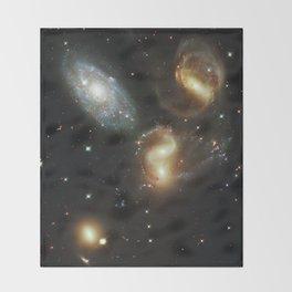 Galactic wreckage Throw Blanket