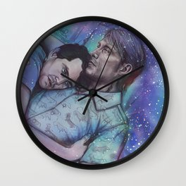 Spacedogs Wall Clock