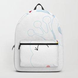 Kids Valentine Frog Princess Backpack