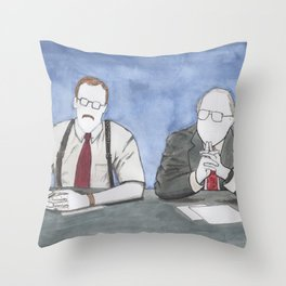 """Office Space - """"The Bobs"""" Throw Pillow"""