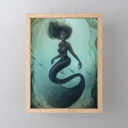 Siren Rising Framed Mini Art Print