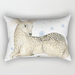 Christmas deer #1 Rectangular Pillow