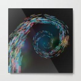 space spiral Metal Print