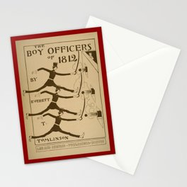 The boy officers of 1812 Stationery Cards