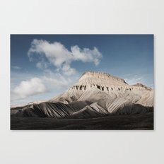 The Last of the Rockies Canvas Print