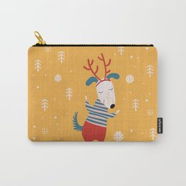 Merry Christmas card 4 Carry-All Pouch