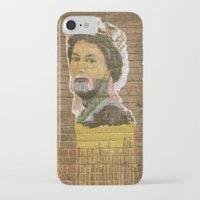 jenny liz rome iPhone & iPod Cases featuring Liz by Teresa Gabry