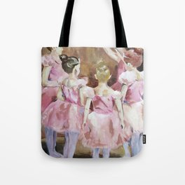 Before the Dance - Ballet Series Tote Bag
