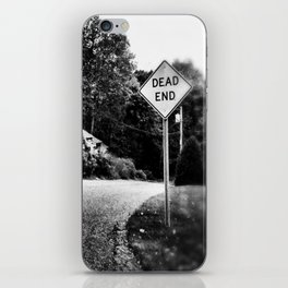 DEAD END iPhone Skin