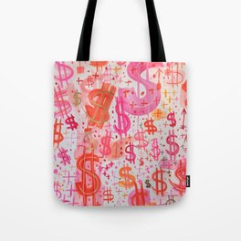 Barbie Money Tote Bag