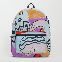 Henri Matisse - The Dream portrait painting Backpack