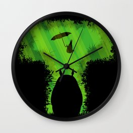 T for Totoro Wall Clock