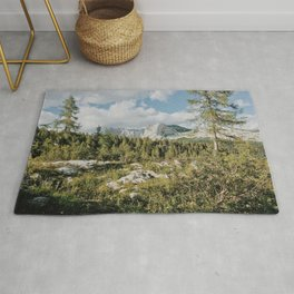 Afternoon in the mountains Rug