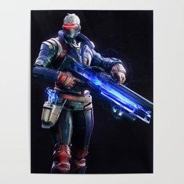 Soldier 76 v1 Poster