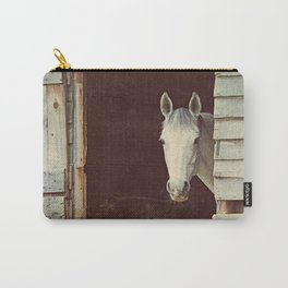 Peekaboo Mare // Horse Carry-All Pouch